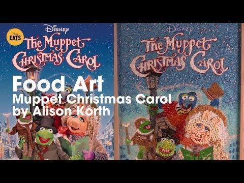 Muppet Christmas Carol Food Art   Disney Eats