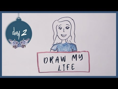 Draw My Life by Molly Kate Kestner | 12 days of MKK - Day 2