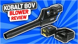 Lowes Kobalt 80 Volt Max Electric Blower Review
