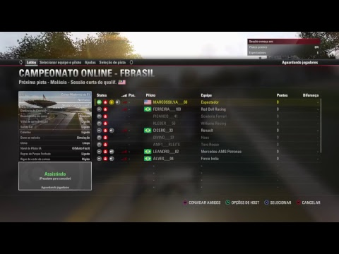 F1 2017 Malásia CATEGORIA ACESSO
