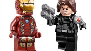 CAPTAIN AMERICA LEGO 76074 76050 76051 MARVEL SUPER HEROES VIP TOY MAKER & MASTER BRICK BUILDER