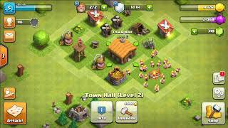 I Am Getting Townhall 3!! + Attacking 2 Noob Bases!