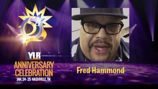 Fred Hammond Congratulates Yes Lord Radio!