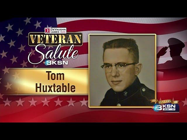 Veteran Salute: Tom Huxtable