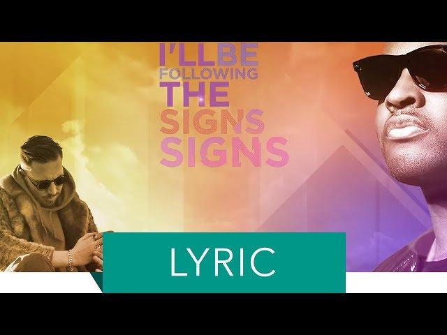 HUGEL & Taio Cruz - Signs (Official Lyric Video)