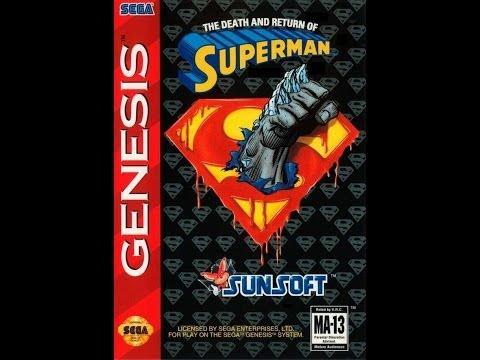 The Death and Return of Superman (Sega Genesis)