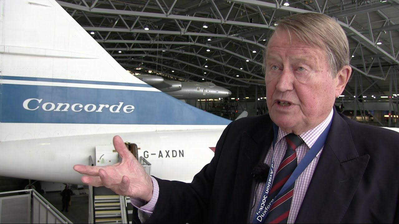 Interview With John Hutchinson On The Concorde Part 1