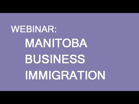 Immigration to Manitoba. Business Stream