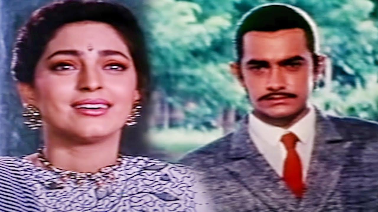 देखिये आमिर खान ने कैसे जूही चावला को प्रपोज़ किया | बॉलीवुड मूवी बेस्ट रोमांटिक सीन