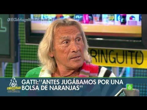 Gatti y sus cosas: 'Antes jugábamos por una bolsa de naranjas' - #ElChiringuitolaSexta