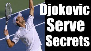 Novak Djokovic Serve | How He Made His Serve A Weapon