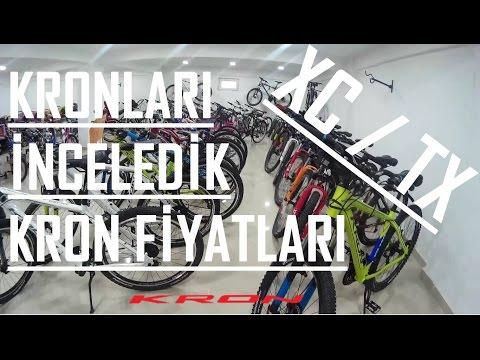 Vlog #5   Kron Bisiklet Bayisini Gezdik   Hangi Bisiklet Ne Kadar?