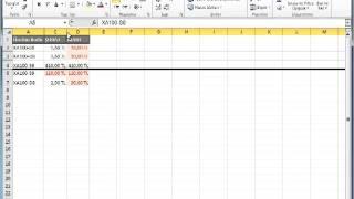 Excel 2010 - Satır ve Sütunları Gizleme