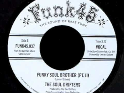 The Soul Drifters  Funky Soul Brother