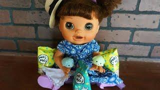 BABY ALIVE Pumpkin Helps Open Moj Moj Blind Bags!