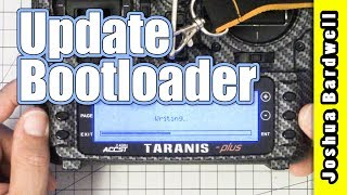 How To Update The Taranis Bootloader
