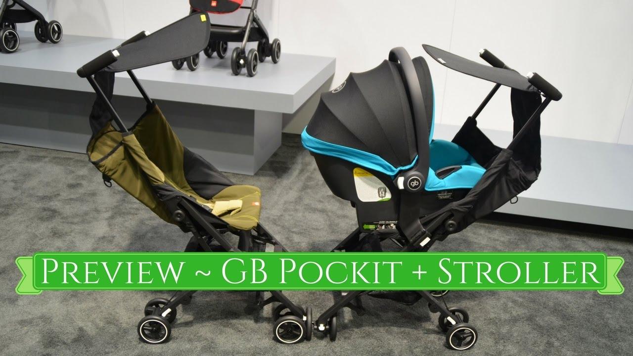 new 2017 gb pockit stroller abc kids expo youtube. Black Bedroom Furniture Sets. Home Design Ideas