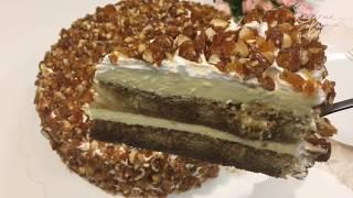 Tiramisu Cake With Caramelised Almonds 焦糖杏仁提拉米苏蛋糕