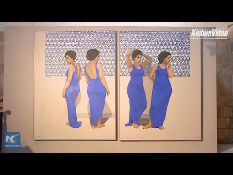 Contemporary art exhibition kicks off in Old Cairo