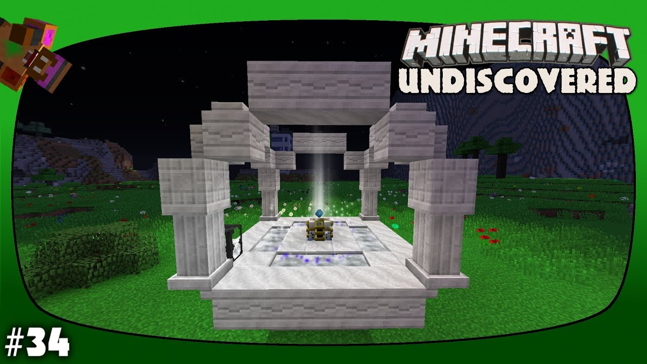 Minecraft Undiscovered Episode 34 - Making Collector Crystals With  Starlight Infusion!