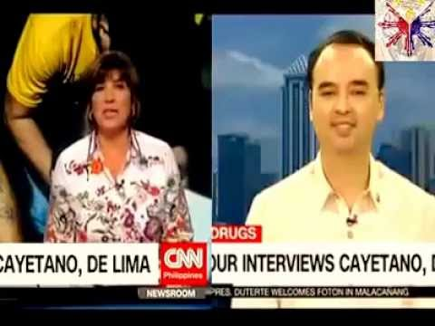 Cayetano Defended The Philippines Against Leila de Lima