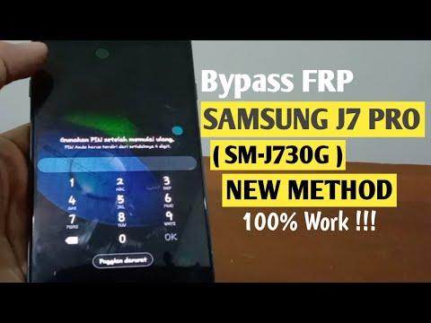 Bypass Frp Samsung J7 Pro (SM-J730G) 9.0 New Method 100% Work !!