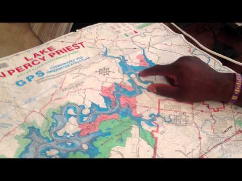 How to Locate Fish using a Topographic Map with Pro Angler Clifton Blanchett