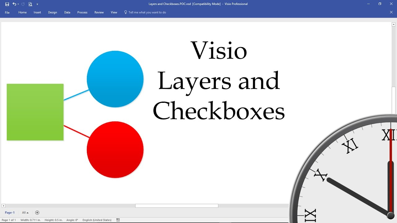 Visio layers and checkboxes youtube pooptronica Gallery