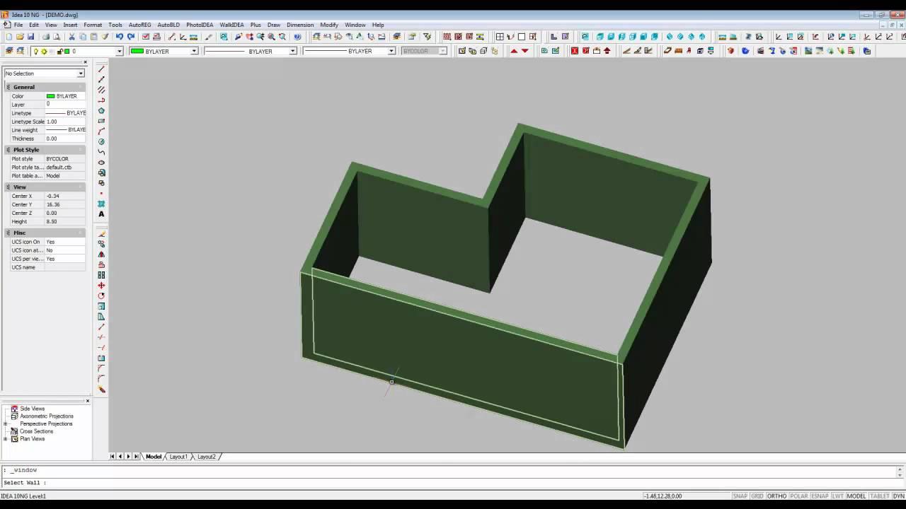 Arquitectura 3d dise o muros puertas y ventanas en 3d for Programas de arquitectura 3d
