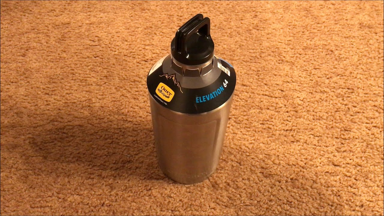 half off 062a8 2ed01 OtterBox Elevation 64oz Mega Growler Water Bottle Review!