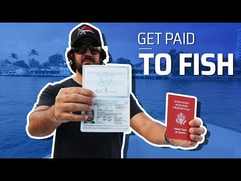 How To Get Your Captain's License To Become A Fishing Guide