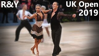 Riccardo Cocchi - Yulia Zagoruychenko (USA) - UK Open 2019 - Professional Latin   Cha Cha Cha
