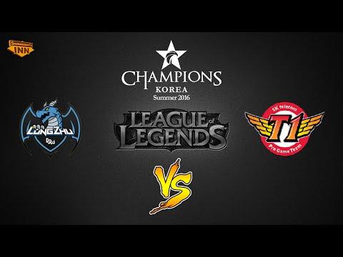 Longzhu Gaming vs. SK Telecom T1 | LCK Summer Split 2016 | W5D5 Game 1