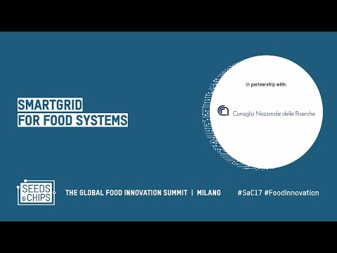 SmartGrid for food systems In partnership with CNR #SaC17