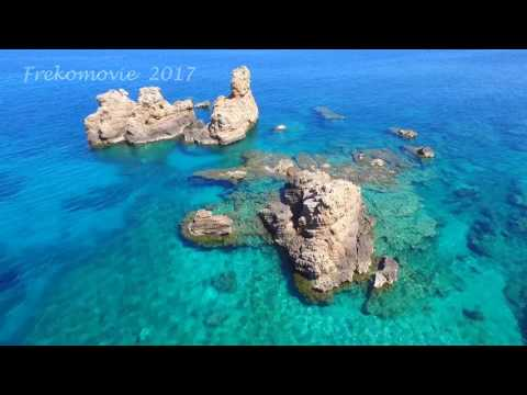 Drone above the East and South Coast of Pelion, Greece