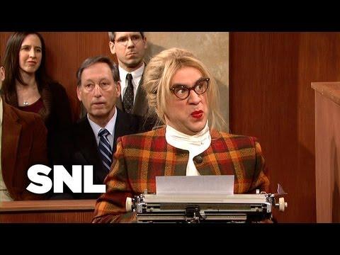 Court Stenographer - Saturday Night Live