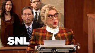Court Stenographer - Saturday Night Live