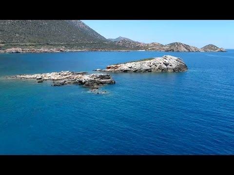 Wrong turn - Crete Greece - drone trip