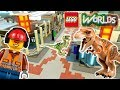 Detailing Main Street: Designing and Building in LEGO Worlds: LEGO Jurassic World