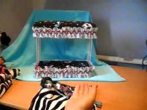 Мебель своими руками для кукол кровать