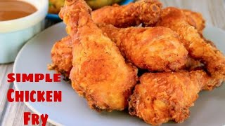 simple and easy chicken fry  easy and very Tasty  YASS VIDEOS  YASIN MOHD