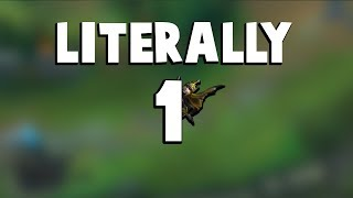When You Escape with Literally 1 HP At Worlds... | Funny LoL Series #185