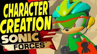 SONIC FORCES - FULL CHARACTER CUSTOMIZATION / ALL GEAR UNLOCKED