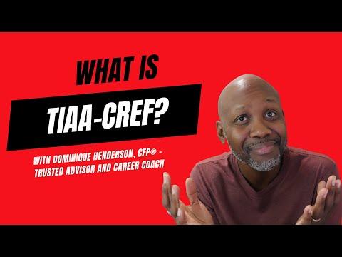 TIAA CREF 👨🏫  Understanding My Plan Options 🤔