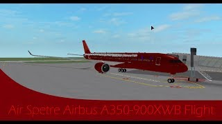 [Roblox Flight] Air Spetre Airbus A350-900 (50fps)