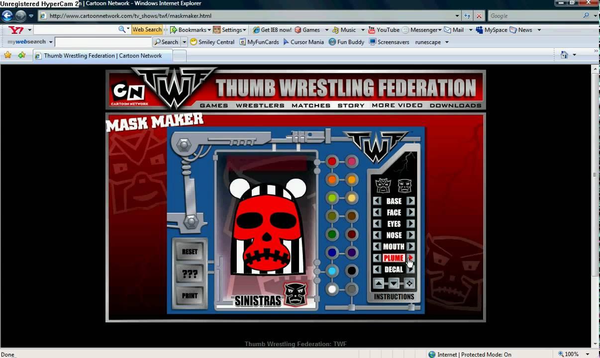 Emo Knievil Thumb Wrestling Federation