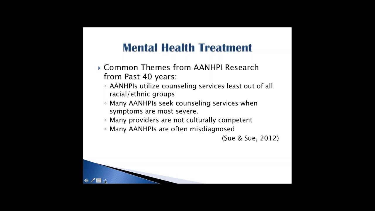 Addressing The Stigma Aas And Nhpis And Mental Health Youtube