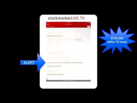 Live Trading $1 Million Trading Tesla Motors Stock on SMS Trade Alerts