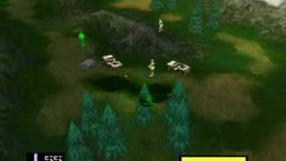 Army men air combat-(N64)-Mission 1