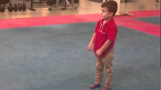 aston 4 years old backflip trojan free fighters 04 06 2012